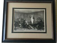"Charles Albert Waltner's ""The Pickwick Club"" Etching Print Design by C. Green"