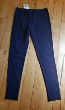 NWT Women's Navy LADY HATHAWAY Comfort French Terry Leggings Size Small S
