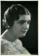 Opera - Autografo del soprano Maria Caniglia (Napoli, 1905 - Roma, 1979)