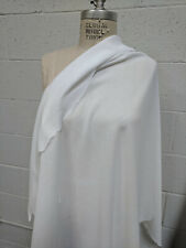 100% Cotton Crepe White Fabric By the Yard light weigh cotton Sheer see thru