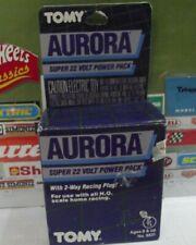 AURORA TOMY AFX 1986 SUPER 22 VOLT POWER PACK 2-WAY RACING PLUG No.8631 NIP!!