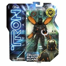 Tron Legacy Black Guard Deluxe 8 inch Action Figure Spin Master Disney 2010 8in