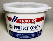12,5 L Krautol Perfect Color Weiß Innenfarbe Wandanstrich Beschichtung Basis 1