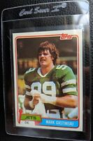 1981 TOPPS #342 MARK GASTINEAU ROOKIE CARD RC NEW YORK JETS HOF MINT