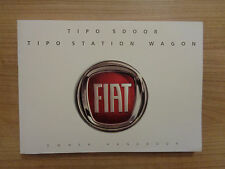 Fiat Tipo Owners Handbook/Manual 16-17