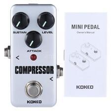 Profesional KOKKO FCP2 mini compresor pedal portátil efecto guitarra D7M2