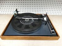 Vintage BIC Belt Drive 940 Multiple Play Manual Turntable - FOR PARTS OR REPAIR