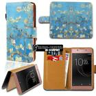 For Sony Xperia Z 1/2/3/4/5 Phones Leather Smart Stand Wallet Case Cover