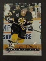 1992-93 Upper Deck Gordie Howe Selects G11 Joe Juneau Boston Bruins Hockey Card