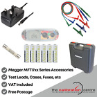 Replacement TEST LEADS & Accessories for MEGGER MFT 1835 Multifunction Tester