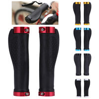 1 Pair Cycling Rubber MTB Road Bike Bicycle Handlebar Grips Cycling Lock-On Ends