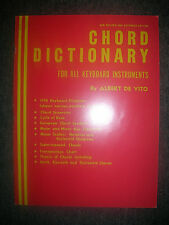Chord Dictionary for Keyboard Instruments by Albert DeVito