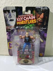 "WCW/NWO Diamond Dallas Page Toy Biz Keychain Wrestlers 3"" New in Package"