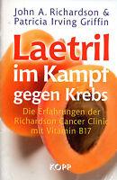 LAETRIL - Im Kampf gegen Krebs - Vitamin B17 BUCH - KOPP VERLAG - NEU