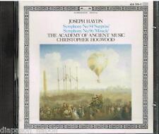 """Haydn: Sinfonie N. 94 """"surprise"""", 96 """"miracle"""" / Hogwood, Aam - CD"""