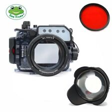 Seafrogs 60m/195ft Underwater Camera Housing Kit for Sony RX100(I-V) M2 M3 M4 M5