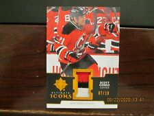2019-20 U.D. ULTIMATE HOCKEY ULTIMATE ICONS 3/c PATCH #07/10 DEVILS Scott Gomez