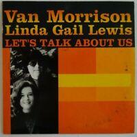 VAN MORRISON / LINDA GAIL LEWIS : LET'S TALK ABOUT US ♦ CD SINGLE PROMO ♦