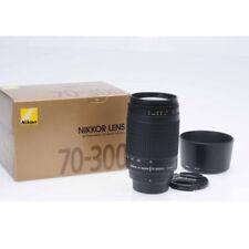 Nikon AF Zoom-Nikkor 70-300mm f/4-5.6 G lens+5Wty