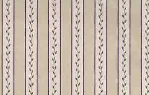 Beige Striped Leaves Wallpaper Green Maroon 236-54862 Double Rolls
