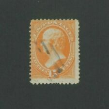 1879 United States Postage Stamp #189 Used Average Partial Postal Cancel