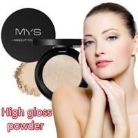 Beauty Highlighter Palette Powder Face Make Up Contour Palette Shimmer 6 Colors