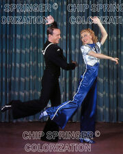 GINGER ROGERS FRED ASTAIRE Follow the Fleet | 8X10 COLOR REPRINT + FREE SHIP