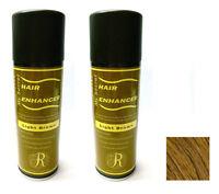 My Secret Hair Enhancer LIGHT BROWN for thinning hair loss 5 oz - TWO PACK VALUE