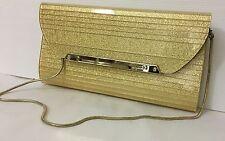 Mimco PREMIERE Evening Clutch Purse Mesh  Hand Bag BNWT Gold