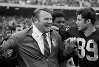 GLOSSY PHOTO PICTURE 8x10 John Madden Smiling For Photo