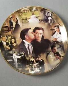Gone With The Wind Scarlett Bradford American Classic Story Of Pride Plate