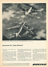 1951 Boeing Stratojet Aircraft - Original Advertisement Print Ad J250