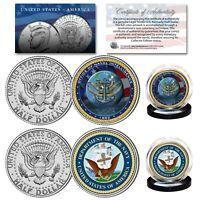 RAILWAY JFK 2-Coin Set w//COA American Civil War USS CUMBERLAND SHIP /& UNION U.S