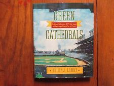 """PHILIP J. LOWRY  Signed Book (""""GREEN  CATHEDRALS"""" -1992  First  Edition Hardback"""
