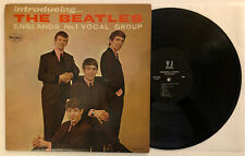 Introducing The Beatles - 1964 Vee-Jay Mono Black/Silver No Brackets (VG+)