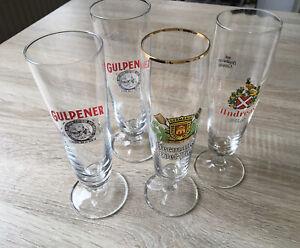 Biergläser: Gulpener, Andreas Pils & Germania Edel-Pils