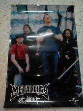 OFFICIAL METALLICA - ST ANGER POSTER MALAYSIA NEW