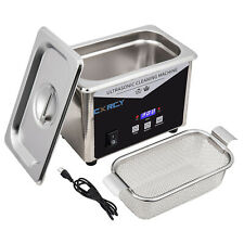 08l Commercial Ultrasonic Cleaner Industry Withtimer Jewelry Ring Parts Glasses