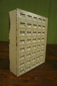 Savings Box Money Box Pub Club Cash 60s Cupboard Metal 60er Vintage