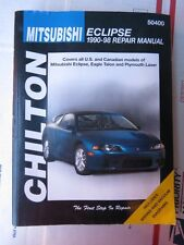 1990-98 MITSUBISHI ECLIPSE CHILTON REPAIR MANUAL SERVICE SHOP 91 92 93 94 95 96