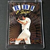 CAL RIPKEN JR 1998 FLEER ULTRA #22 RBI KINGS FOIL INSERT CARD ORIOLES MLB HOF