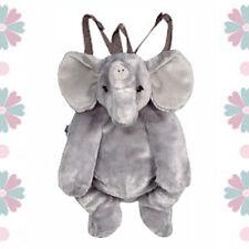 "17"" Backpack Zoo Plush Animal ELEPHANT Toddler Kids Doll Toy Purse Bag NEW 3+"