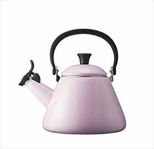 LE CREUSET 1.6 L Pink Enamel-on-Steel Whistling Tea Kettle 920002-00-19 NEW