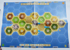 Die Siedler von Catan _ 24 bunte Städte Räuber und 3 Spielpläne A, B, und C*