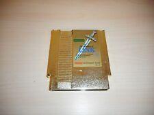 The Adventure of Link Legend of Zelda II Nintendo NES Game Original Cart Gold