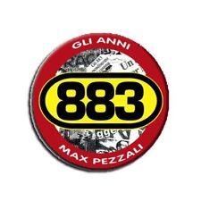 1 Magnete - 883 Gli Anni - Max Pezzali  5,6cm