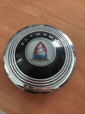 1940s Plymouth Horn Button Steering Wheel