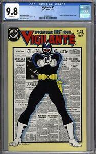 Vigilante #1 (1983) CGC 9.8 NM/MT Origin of the Vigilante WHITE PAGES