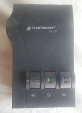 Plantronics Vista M12 Headset Amplifier Base For Voip Used Missing Headset
