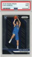 Luka Doncic Dallas Mavericks 2018 Panini Prizm RC #280 PSA 9 Card Panini